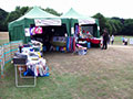 The stall at Hornsea Carnival